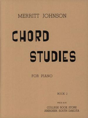 Primary view of object titled 'Chord Studies for Piano, Book 2'.