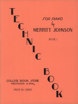 Primary view of object titled 'Technic Book No. 1 for Piano'.