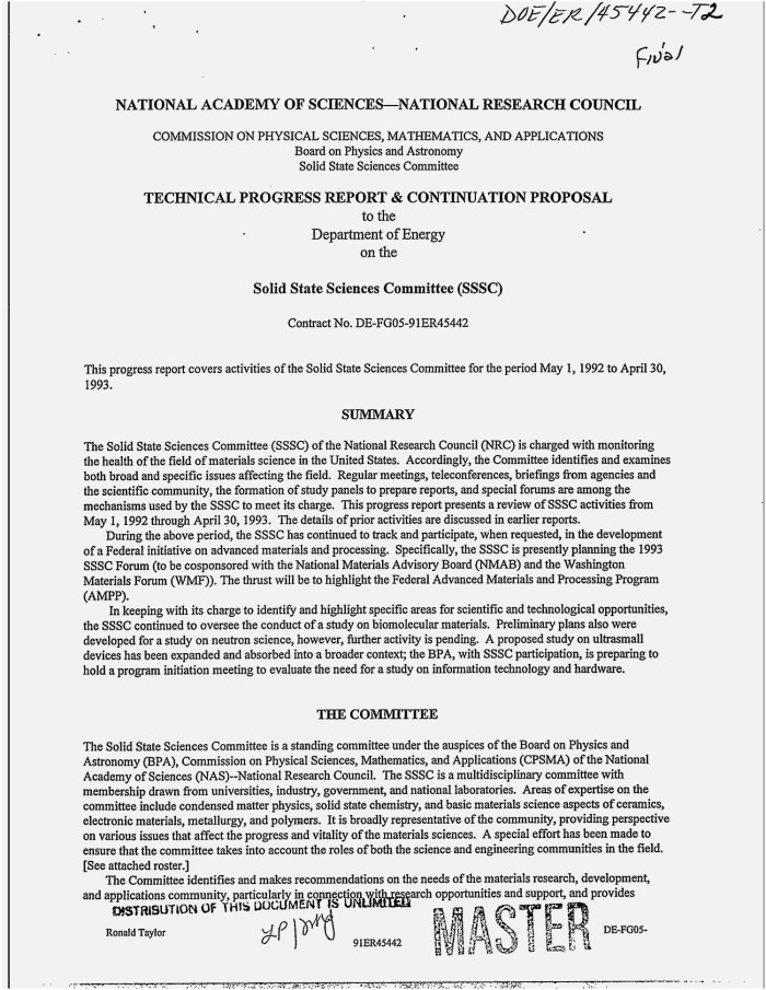 physical science research paper proposal