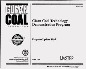 Primary view of object titled 'Clean Coal Technology Demonstration Program. Program update 1995'.