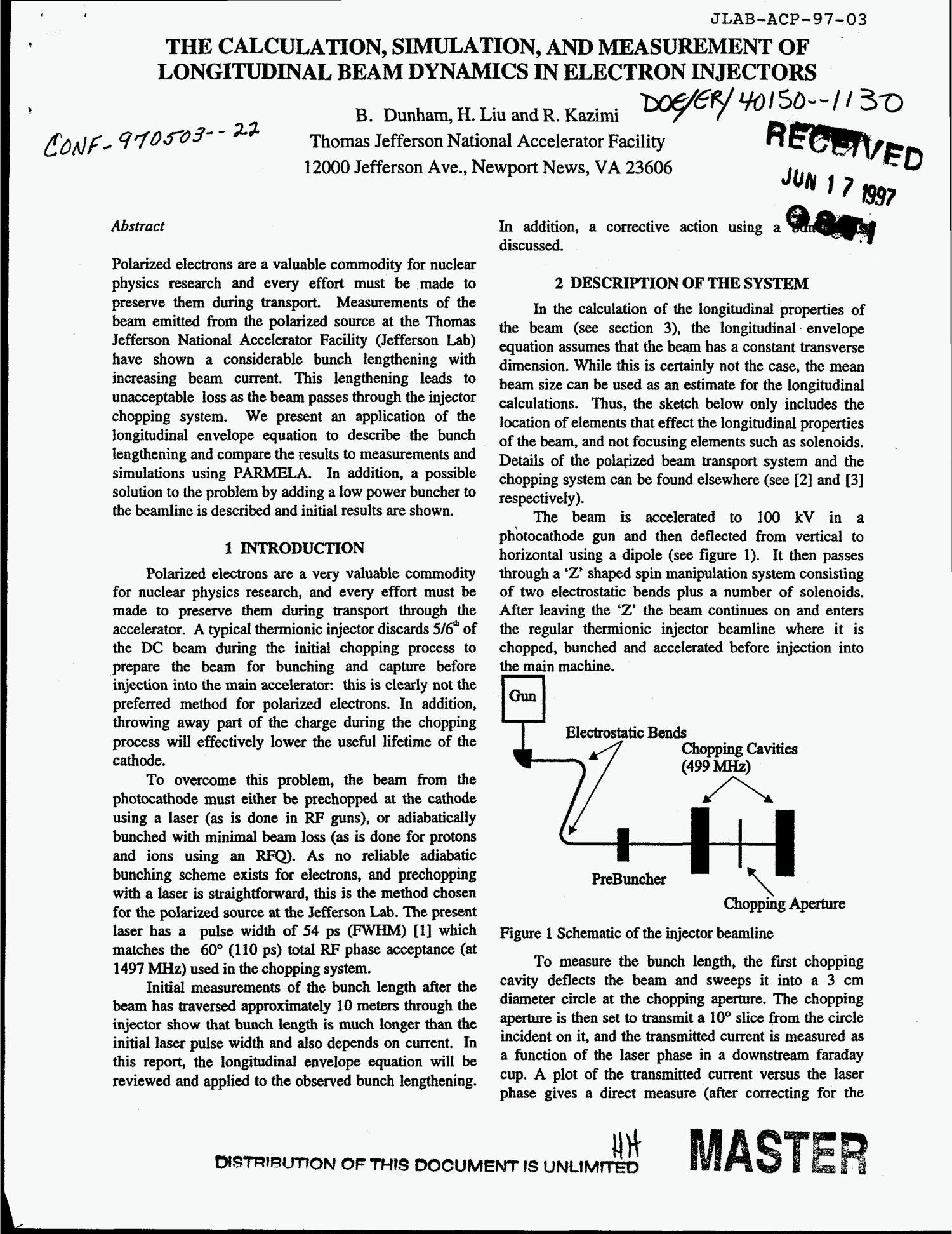 the calculation simulation and measurement of longitudinal beam Beam H D 2 the calculation simulation and measurement of longitudinal beam dynamics in electron injectors digital library