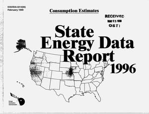 Primary view of object titled 'State energy data report 1996: Consumption estimates'.