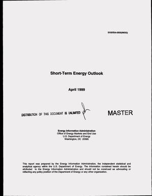 Primary view of object titled 'Short-term energy outlook, April 1999'.
