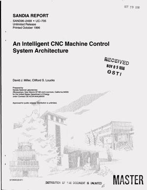 Primary view of object titled 'An intelligent CNC machine control system architecture'.