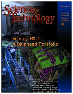 Primary view of object titled 'Science & Technology Review, December 1998'.