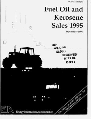 Primary view of object titled 'Fuel oil and kerosene sales 1995'.