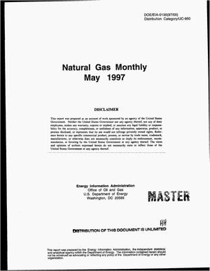 Primary view of object titled 'Natural gas monthly, May 1997'.