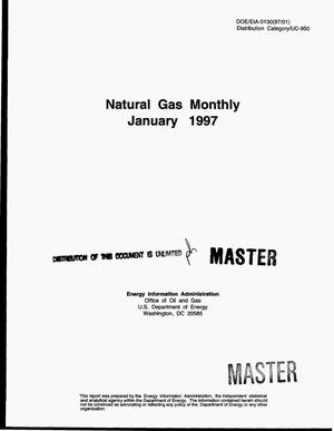 Primary view of object titled 'Natural gas monthly, January 1997'.
