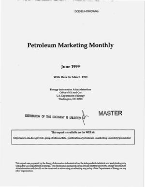 Primary view of object titled 'Petroleum marketing monthly, June 1999, with data for March 1999'.