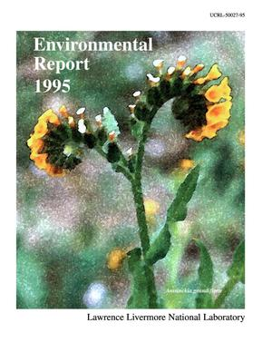 Primary view of object titled 'Environmental Report 1995. Volume 1'.