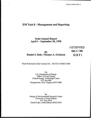 Primary view of object titled 'EM Task 8 - Management and Reporting'.