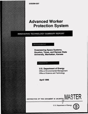 Primary view of object titled 'Advanced Worker Protection System'.