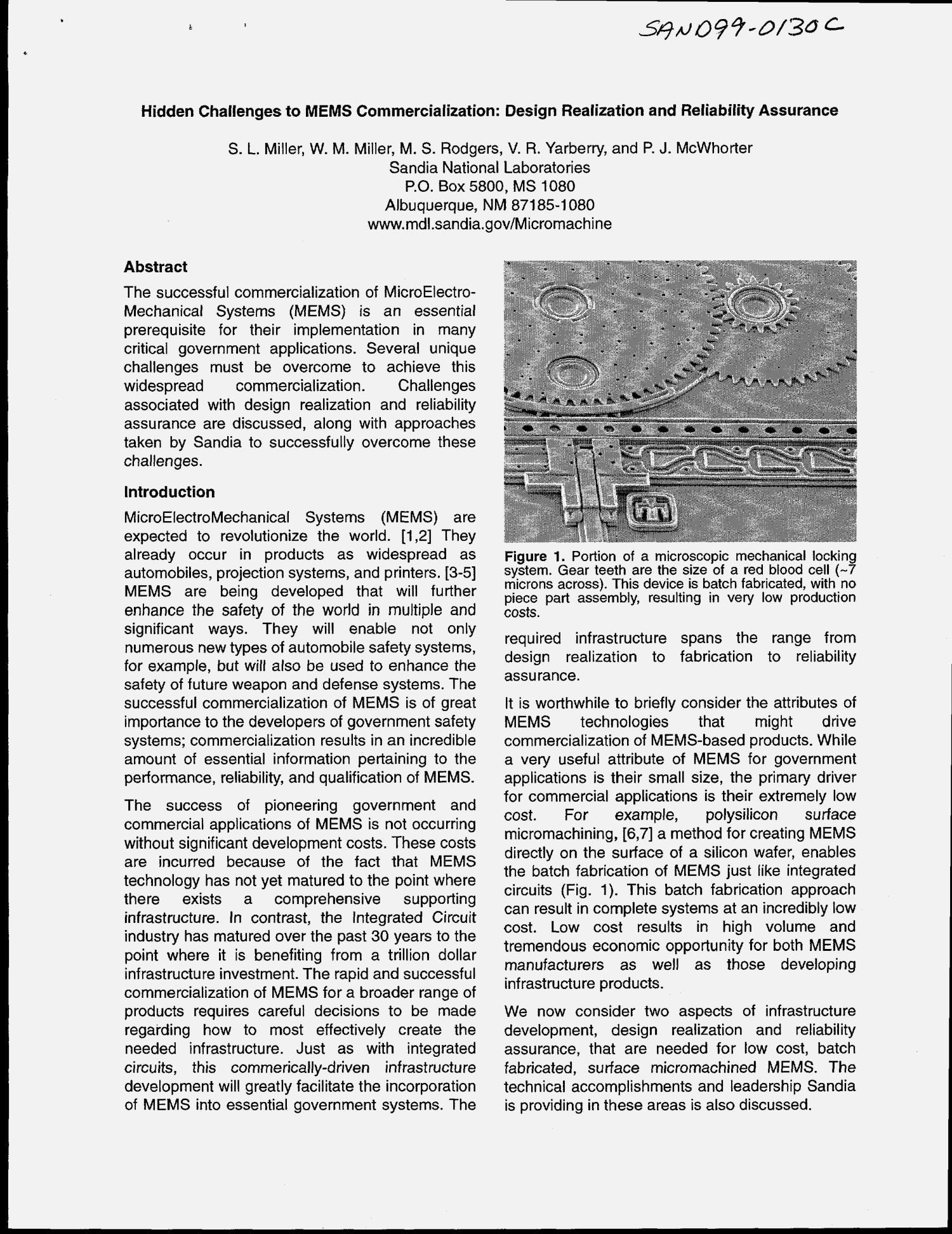Hidden Challenges To Mems Commercialization Design Realization And Reliability Assurance Unt Digital Library