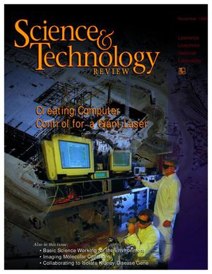 Primary view of object titled 'Science and Technology Review, November 1998'.