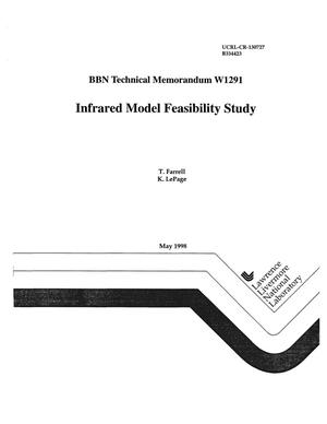 Primary view of object titled 'BBN technical memorandum W1291 infrasound model feasibility study'.