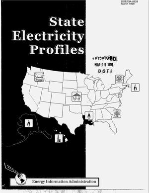 Primary view of object titled 'State electricity profiles, March 1999'.