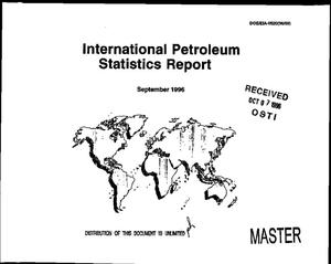Primary view of object titled 'International petroleum statistics report, September 1996'.