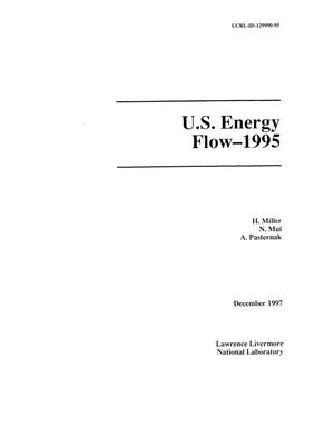 Primary view of object titled 'U.S. Energy Flow -- 1995'.
