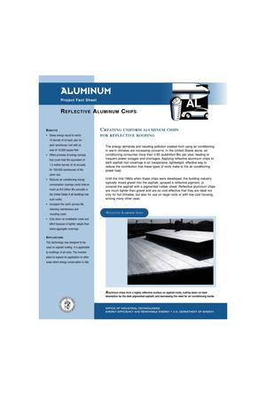 Primary view of object titled 'Aluminum: Reflective Aluminum Chips'.