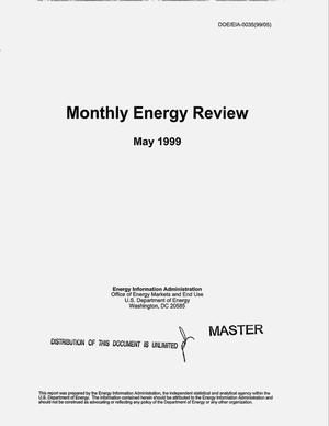 Primary view of object titled 'Monthly energy review, May 1999'.