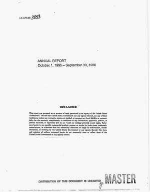 Primary view of object titled 'Los Alamos National Laboratory Science Education Program. Annual progress report, October 1, 1995--September 30, 1996'.