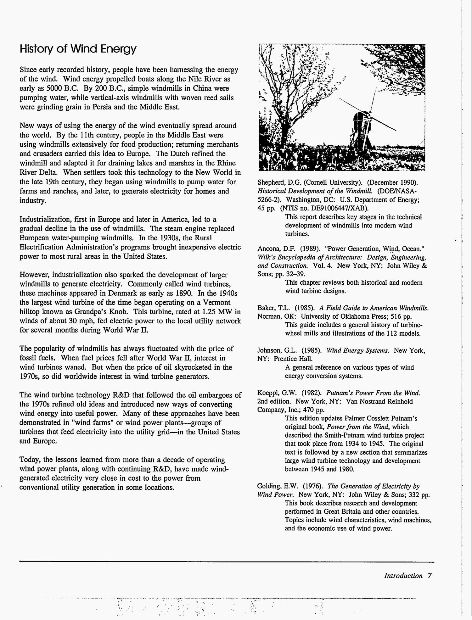 Wind energy information guide - Page 14 of 131 - Digital Library