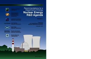 Primary view of object titled 'Recommendations for a Department of Energy nuclear energy R and D agenda'.