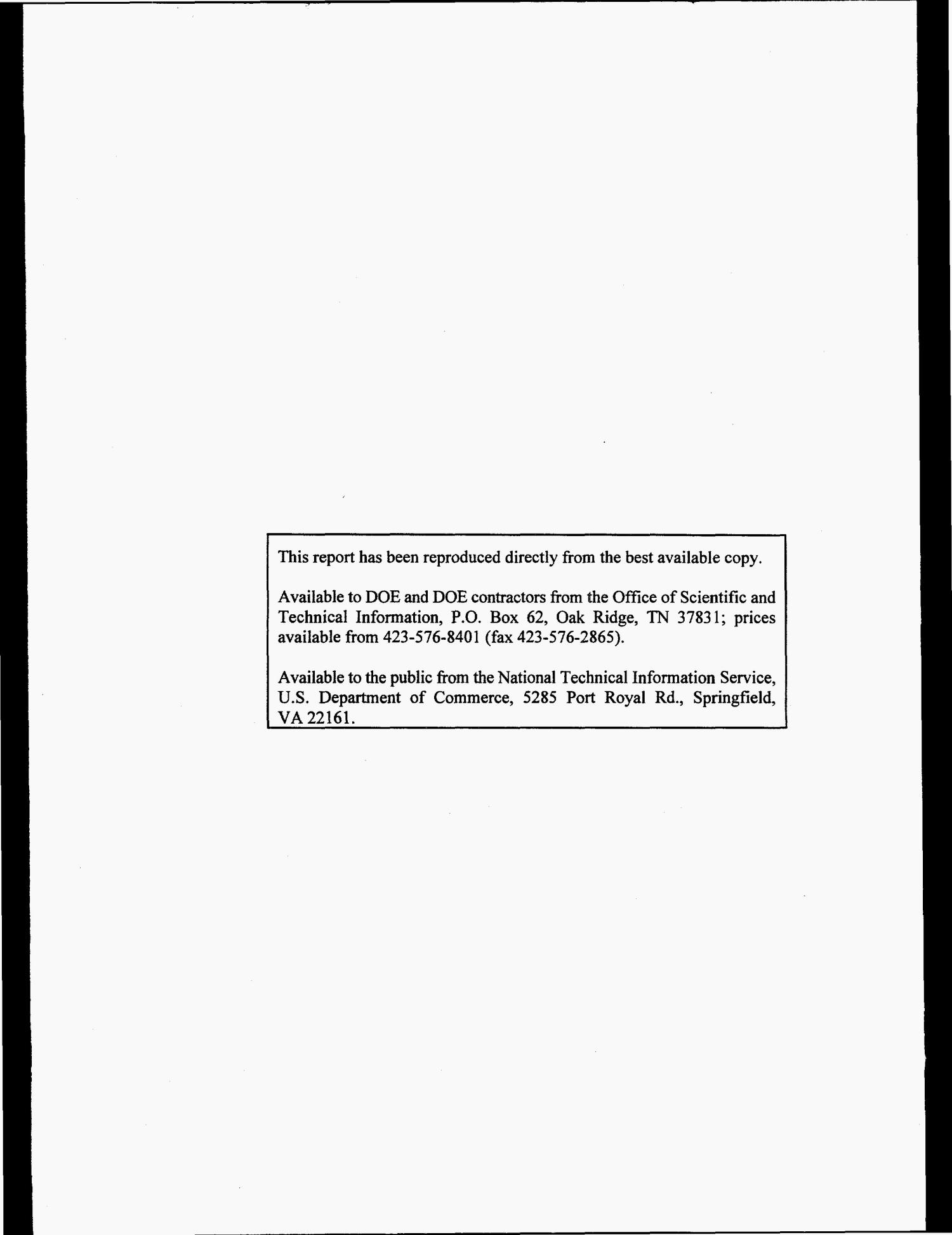 Technical specification for transferring National Pollutant Discharge Elimination System water data to the Oak Ridge Environmental Information System                                                                                                      [Sequence #]: 2 of 61