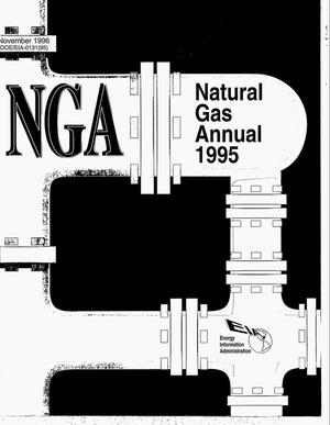 Primary view of object titled 'Natural gas annual 1995'.