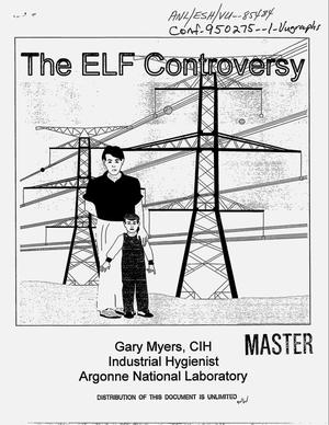 Primary view of object titled 'The ELF controversy'.