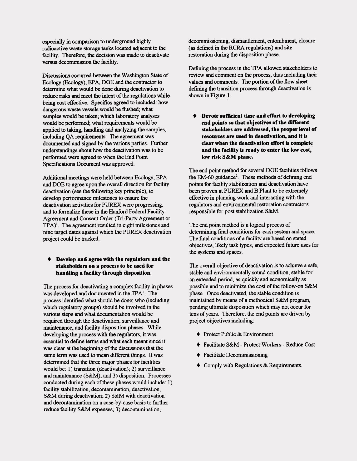 Implementing RCRA during facility deactivation - Page 8 of