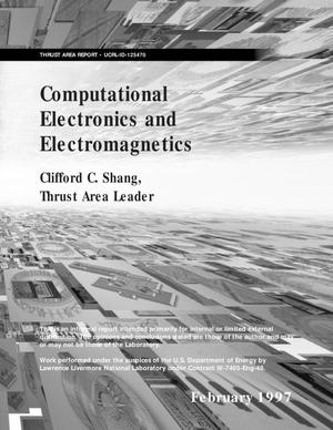 Primary view of object titled 'Computational electronics and electromagnetics'.