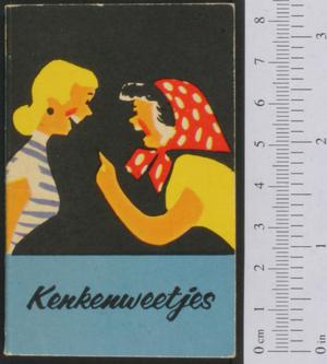 Primary view of object titled 'Kenkenweetjes'.