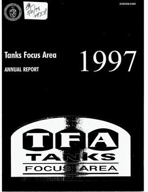 Primary view of object titled 'Tanks focus area. Annual report'.