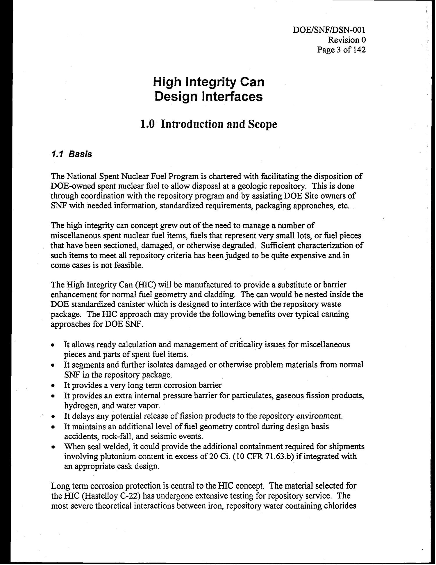 High Integrity Can Design Interfaces                                                                                                      [Sequence #]: 6 of 145