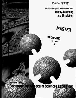 Primary view of object titled 'Theory, Modeling and Simulation: Research progress report 1994--1995'.