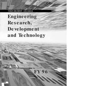 Primary view of object titled 'Thrust Area Report, Engineering Research, Development and Technology'.