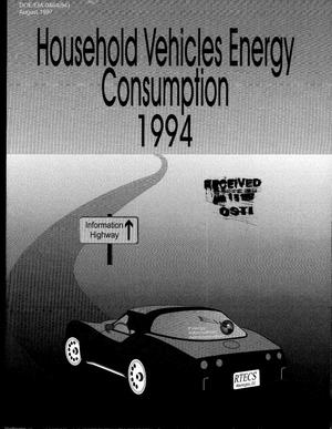 Primary view of object titled 'Household vehicles energy consumption 1994'.