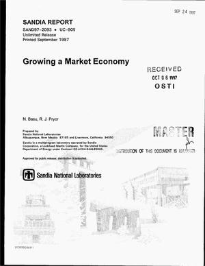 Primary view of object titled 'Growing a market economy'.