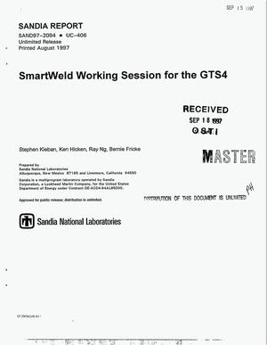 Primary view of object titled 'SmartWeld working session for the GTS4'.