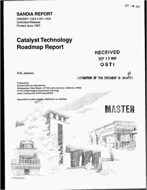 Primary view of object titled 'Catalyst technology roadmap report'.