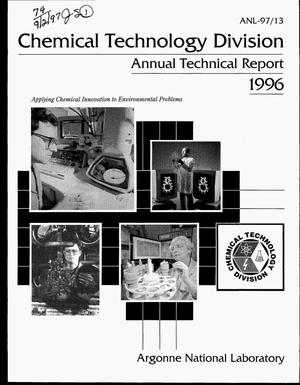 Primary view of object titled 'Chemical Technology Division annual technical report, 1996'.