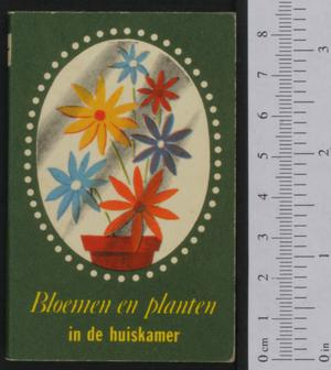 Primary view of object titled 'Bloemen en planten in de huiskamer'.