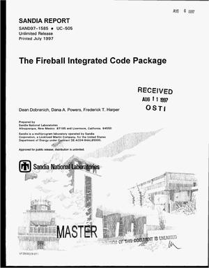 Primary view of object titled 'The Fireball integrated code package'.