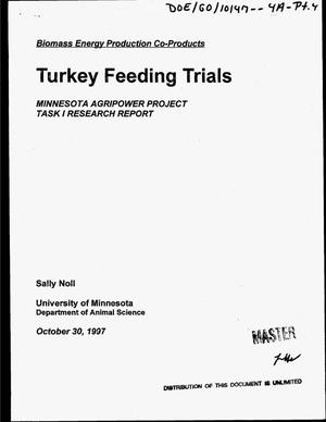 Primary view of object titled 'Alfalfa leaf meal for market and breeder hen turkeys. Quarterly progress report, July 1, 1997--September 30, 1997'.