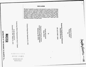 Primary view of object titled 'Responsive copolymers for enhanced petroleum recovery. Quarterly technical progress report, December 21, 1994--March 22, 1995'.