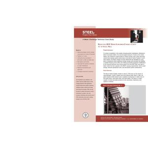 Primary view of object titled 'Steel: Reducing BOF Hood Scrubber Energy Costs at a Steel Mill (Technical Case Study)'.