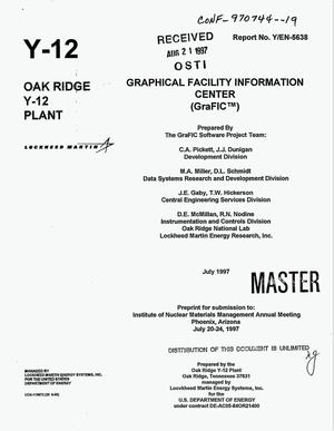 Primary view of object titled 'Graphical Facility Information Center (GraFIC{trademark})'.