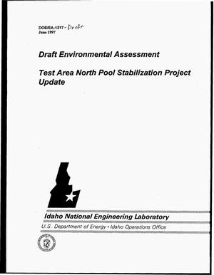 Primary view of object titled 'Draft environmental assessment -- Test Area North pool stabilization project update'.