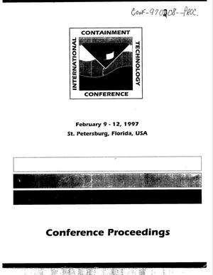 Primary view of object titled 'International Containment Technology Conference: proceedings'.
